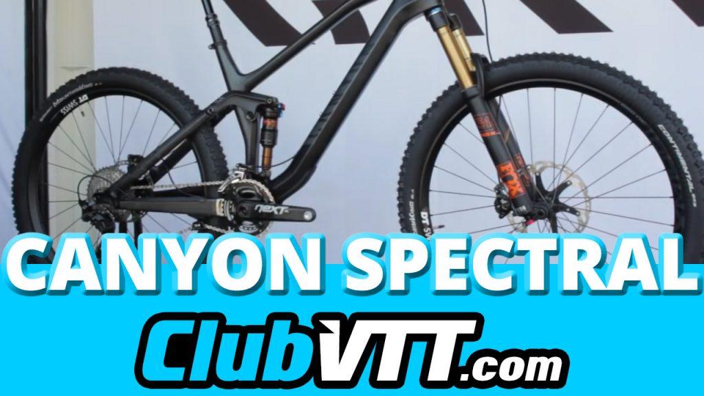 155 - Vtt CANYON SPECTRAL CF : vtt de l'année 2015