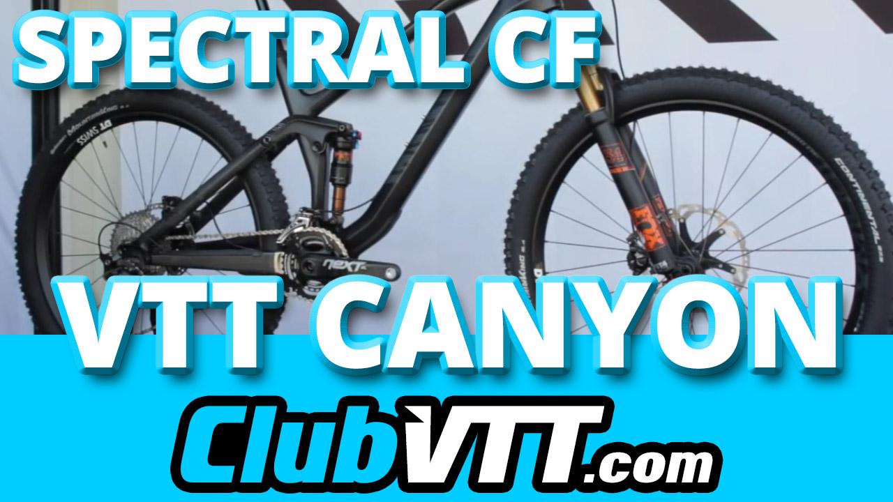 Vtt CANYON Spectral CF 2015