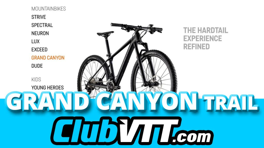 356 - Test vtt GRAND CANYON AL SLX 9.9 TRAIL