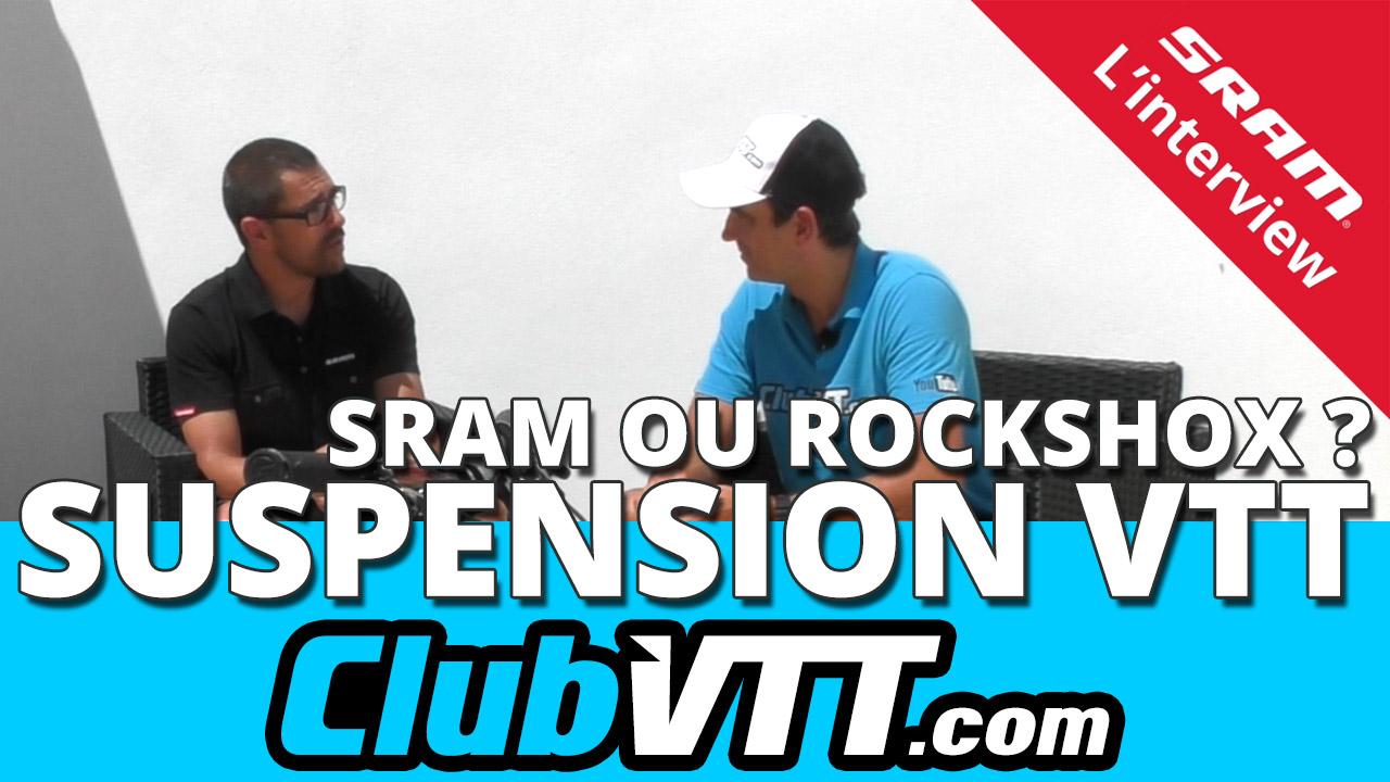 Suspensions vtt et marques du groupe SRAM