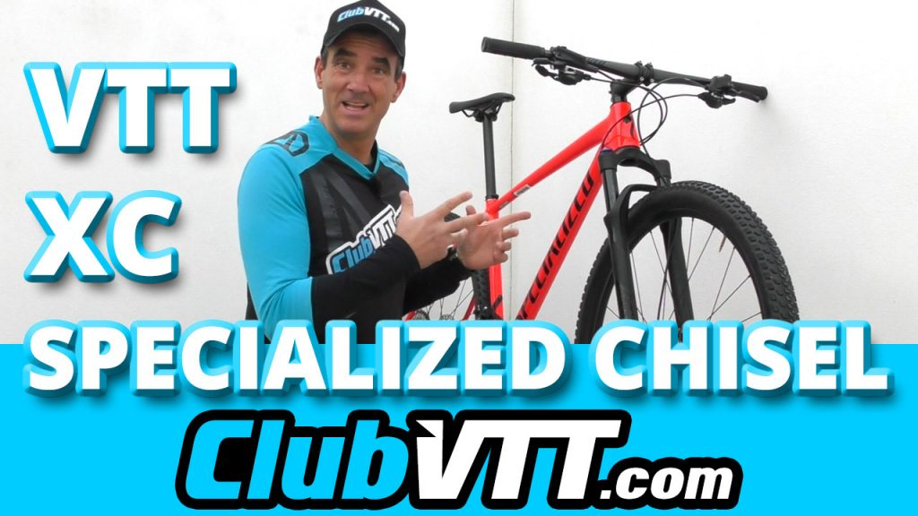 504 - Nouveau vtt SPECIALIZED Chisel : le vtt Cross Country en aluminium !
