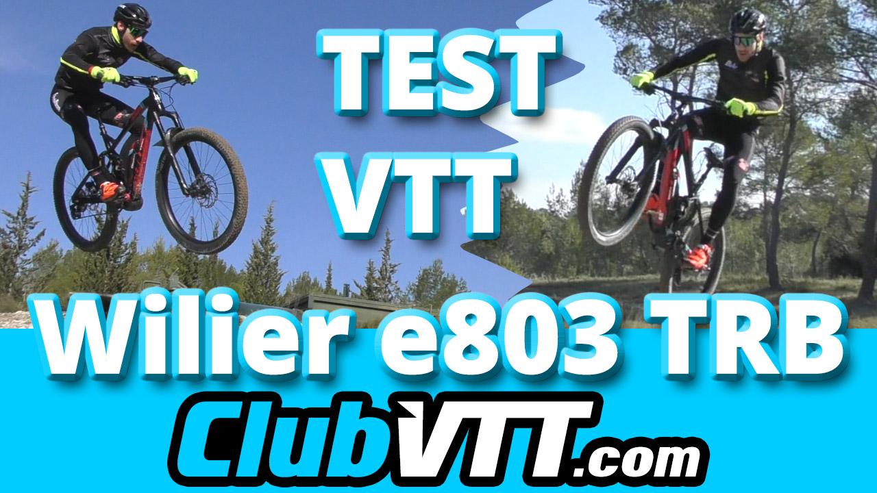 test vtt à assistance électrique Wilier e803 trb : le vae explosif pour plus de performances !!