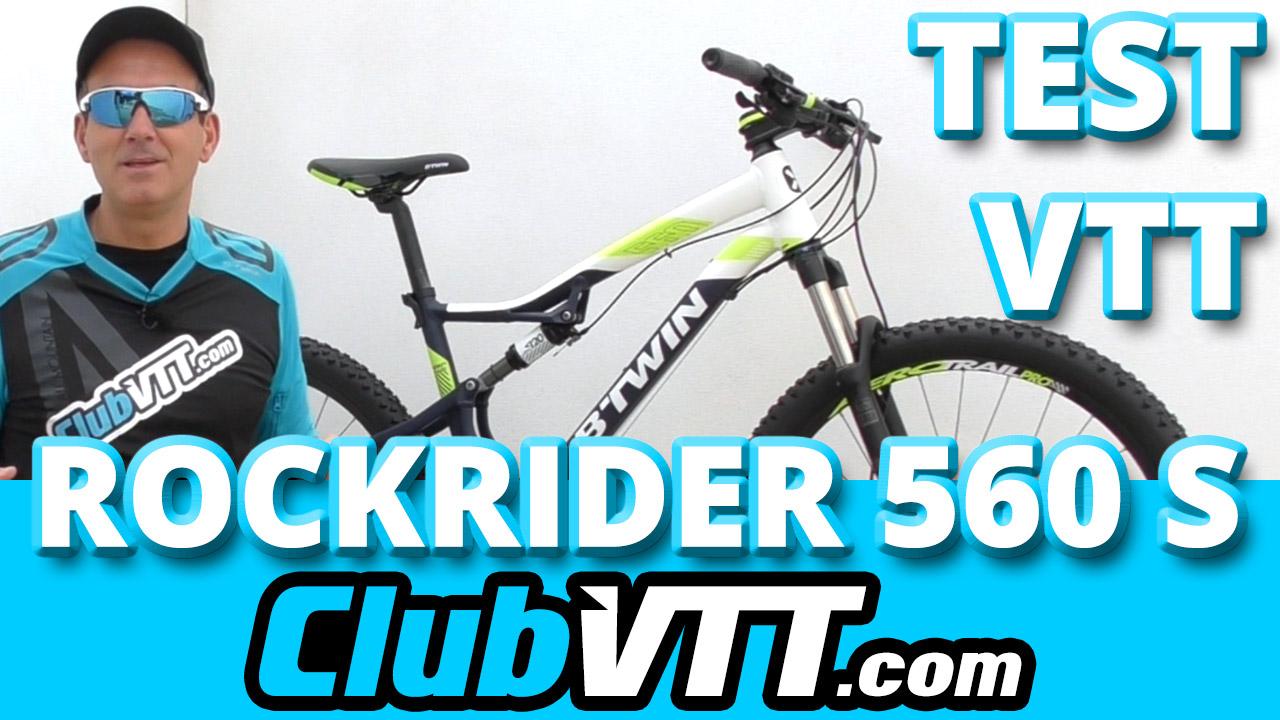 Vtt btwin rockrider 560 s