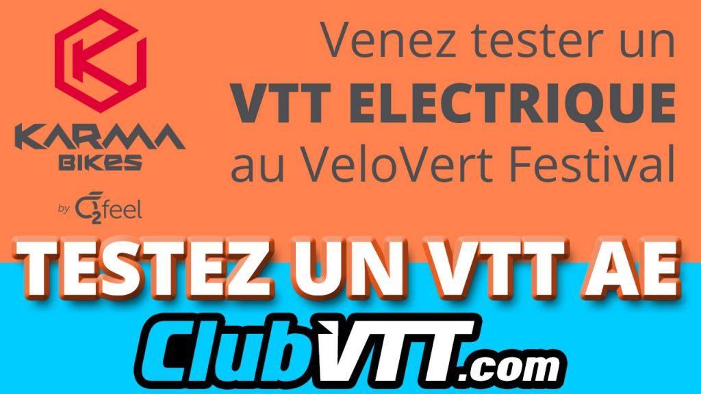 536 - Vtt electrique : Venez tester un vtt à assistance électrique