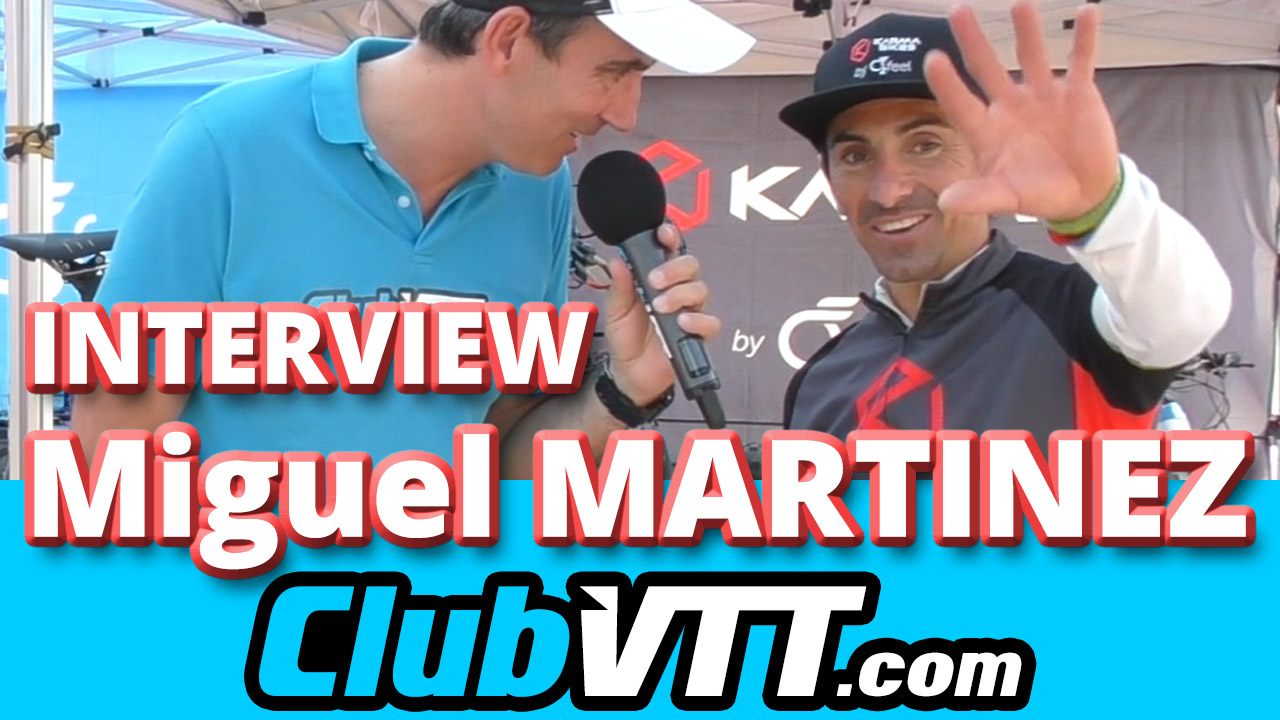 Miguel MARTINEZ interview du champion de vtt XC