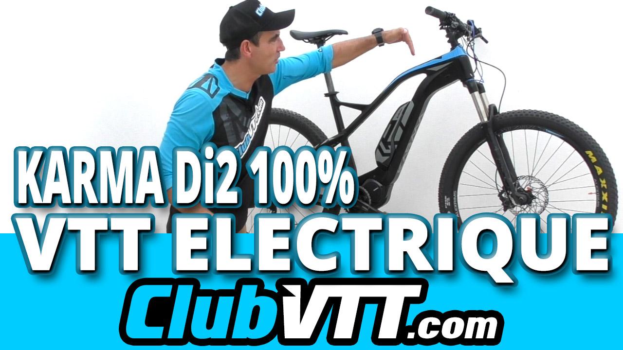Vtt assistance elctrique KARMA Di2 : 100% electrique ??