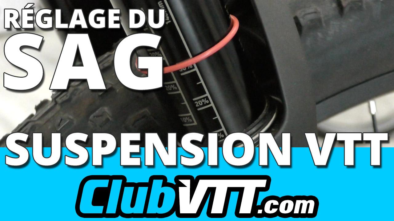 Réglage de suspension vtt : le réglage du SAG