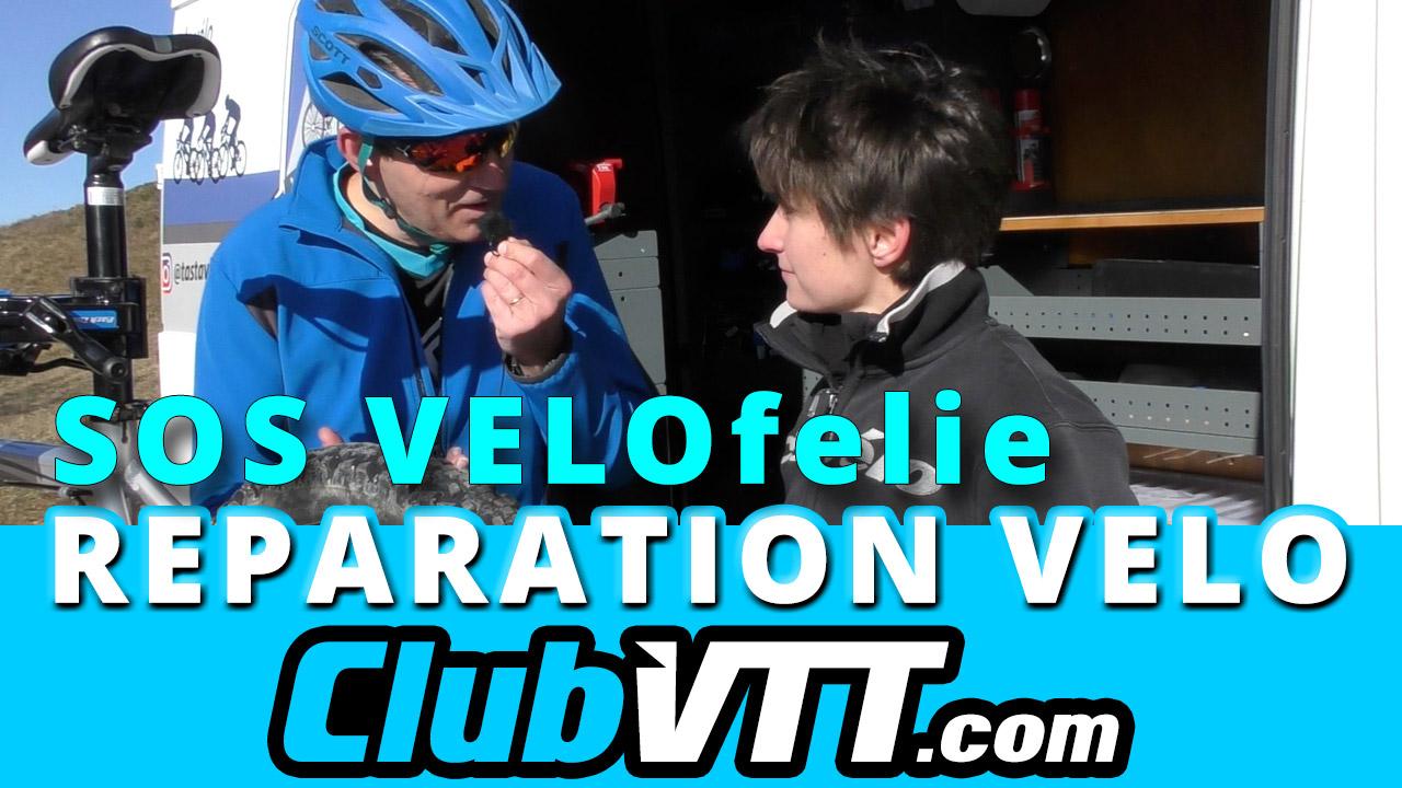 Atelier de réparation de vélos mobile : Velofelie.