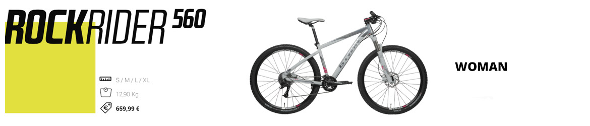 rockrider 560 btwin woman