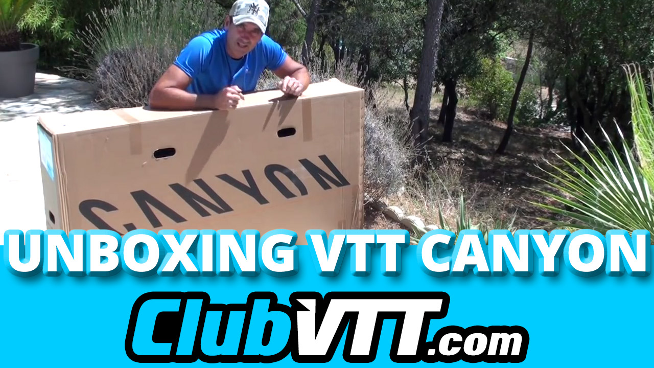 unboxing vtt canyon