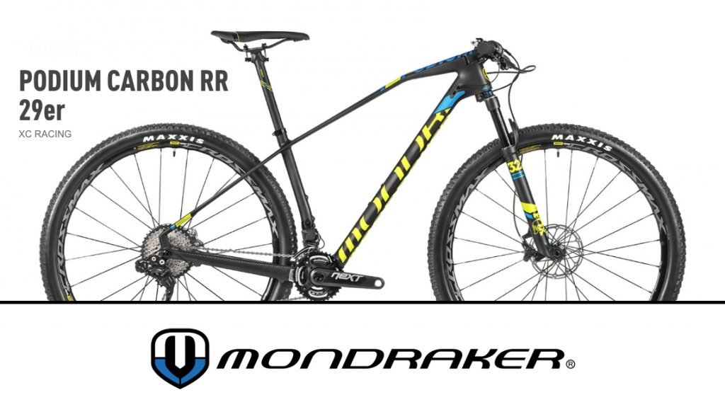 296 - MONDRAKER PODIUM - L'arme absolue cross country