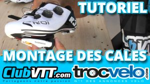 cales chaussures velo route