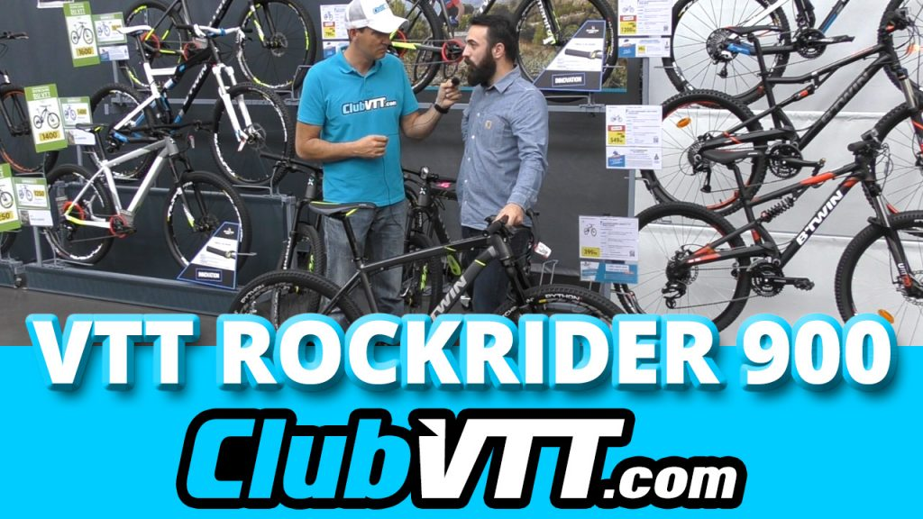 434 - Rockrider 900 - Vtt BTWIN cross country