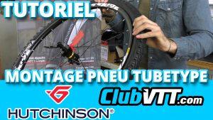 montage pneu vtt
