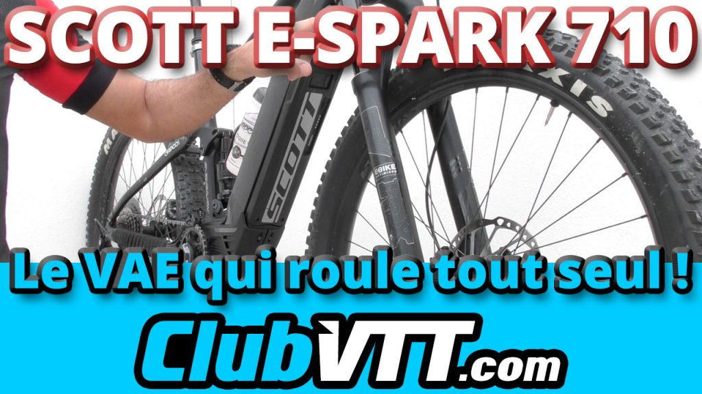 522 - VAE SCOTT E-Spark 710 : attention au mode Walk !!