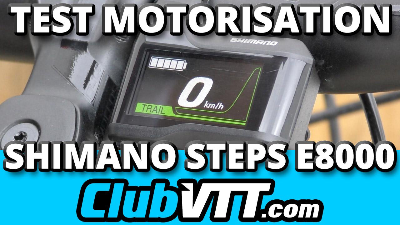 moteur shimano steps e8000