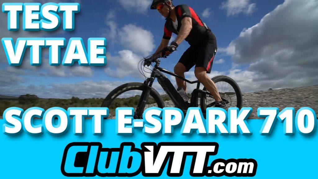 524 - Vtt électrique SCOTT E-Spark : le test sur le terrain !!