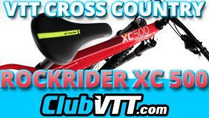 rockrider XC 500