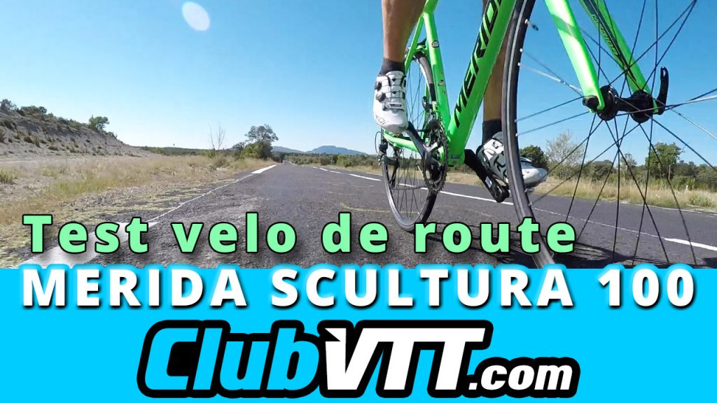 599 - Test velo de route Merida Scultura 100