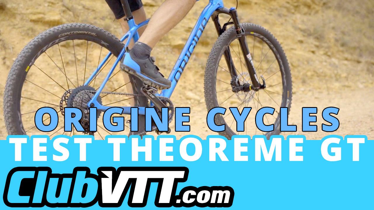 Test du vtt THeoreme GT Origine sur le terrain.