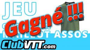 Maillot vtt ASSOS à gagner - CLUBVTT020
